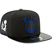 New Era Men's Golden State Warriors 9Fifty '4x Champs' Adjustable Snapback Hat