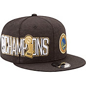 New Era Men's 2017 NBA Champions Golden State Warriors 9Fifty Black/Gold Adjustable Snapback Hat