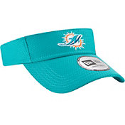 New Era Men's Miami Dolphins 2017 Training Camp Aqua Adjustable Visor