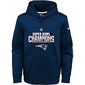 Nike Youth Super Bowl LI Champions New England Patriots Parade Navy Hoodie