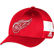 adidas Youth Detroit Red Wings 2017 NHL Draft Structured Flex Hat
