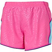 Reebok Girls' Embossed Running Shorts