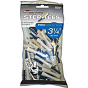 Pride Sports 3.25' Step Golf Tees – 50-Pack