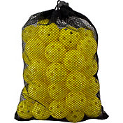 Maxfli Yellow Practice Balls & Mesh Bag – 48-Pack