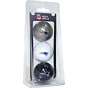 Team Golf New England Patriots Golf Balls – 3 Pack
