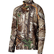Field & Stream Youth C3 Midweight Mock Neck Base Layer Shirt
