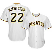 Majestic Men's Replica Pittsburgh Pirates Andrew McCutchen #22 Cool Base Home White Jersey