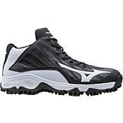 Mizuno Men's 9 Spike Advanced Erupt 3 Mid Baseball Cleats