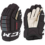 CCM Junior QLT Edge Ice Hockey Gloves