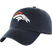 '47 Men's Denver Broncos Navy Clean Up Adjustable Hat