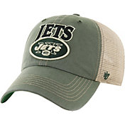 '47 Men's New York Jets Vintage Tuscaloosa Green Adjustable Hat