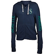 5th & Ocean Women's Seattle Mariners Navy Full-Zip Hoodie