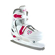 American Athletic Shoe Girls' Party Girl Adjustable Figure Skates
