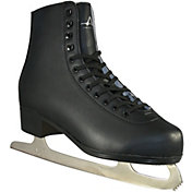 American Athletic Shoe Men's Leather Lined Figure Skates