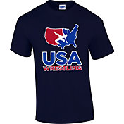 USA Wrestling Adult U.S.A. 2.0 Short Sleeve Wrestling T-Shirt
