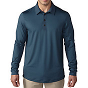 adidas Men's climacool UPF Long Sleeve Golf Polo
