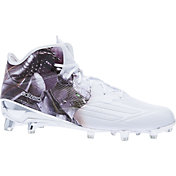 adidas Men's adizero 5-Star 5.0 Uncaged Mid Football Cleats