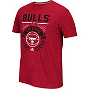 adidas Men's Chicago Bulls climalite Street Regal Red T-Shirt