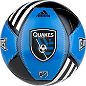 adidas San Jose Earthquakes Team Crest Mini Soccer Ball