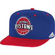 adidas Youth Detroit Pistons On-Court Adjustable Snapback Hat