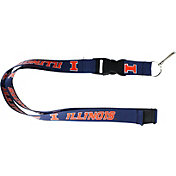 Illinois Fighting Illini Blue Lanyard