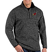 Antigua Men's Arizona Cardinals Fortune Black Pullover Jacket