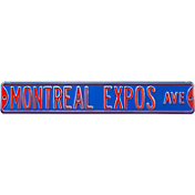 Authentic Street Signs Montreal Expos Avenue Sign