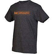 boxercraft Men's Mercer Bears Grey Just for You Crew Block Wordmark and Logo T-Shirt