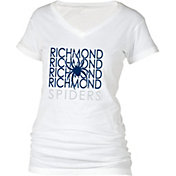 boxercraft Women's Richmond Spiders Perfect Fit V-Neck White T-Shirt