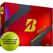 Bridgestone Tour B330-RX Yellow Personalized Golf Balls