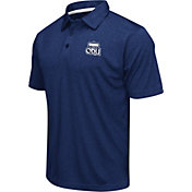 Colosseum Men's Old Dominion Monarchs Blue Heathered Performance Polo