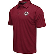 Colosseum Men's Umass Minutemen Maroon Heathered Performance Polo