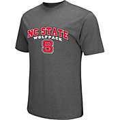 Colosseum Athletics Men's North Carolina State Wolfpack Grey Classic T-Shirt