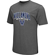 Colosseum Men's Villanova Wildcats Grey Classic T-Shirt
