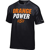 Champion Men's Oklahoma State Cowboys Football Slogan Black T-Shirt