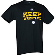 "Cliff Keen ""Keep Wrestling"" Short Sleeve Wrestling Shirt"