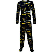 Concepts Sport Men's West Virginia Mountaineers Blue Union Suit