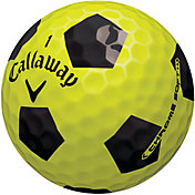 Callaway Chrome Soft Truvis Yellow Golf Balls - Prior Generation