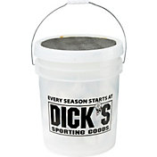 DICK'S Sporting Goods Bucket of 24 Synthetic Baseballs