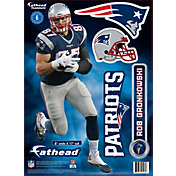 Fathead New England Patriots Rob Gronkowski Teammate Player Wall Decal