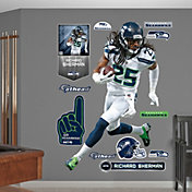 Fathead Richard Sherman #25 Seattle Seahawks Real Big Wall Graphic