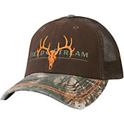 Field & Stream Men's Embroidered Skull Camo Hat