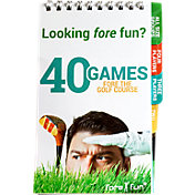 Fore Fun 40 Games Fore the Golf Course Booklet