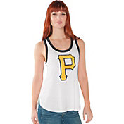 Touch by Alyssa Milano Women's Pittsburgh Pirates White Tank Top