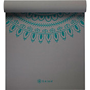 Gaiam 6mm Premium Print Yoga Mat