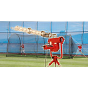 Heater Baseball Pro Pitching Machine & Xtender 24' Batting Cage