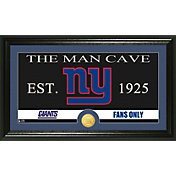 The Highland Mint New York Giants 'The Man Cave' Framed Bronze Coin Photo Mint