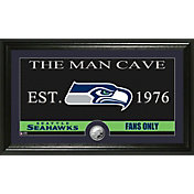 The Highland Mint Seattle Seahawks 'The Man Cave' Framed Coin Photo Mint