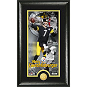 The Highland Mint Pittsburgh Steelers Ben Roethlisberger Framed 'Supreme' Bronze Coin Photo Mint