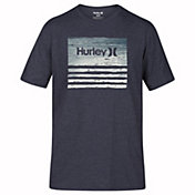 Hurley Men's Borderline Textripe T-Shirt